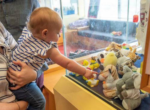 5 – baby picking prize